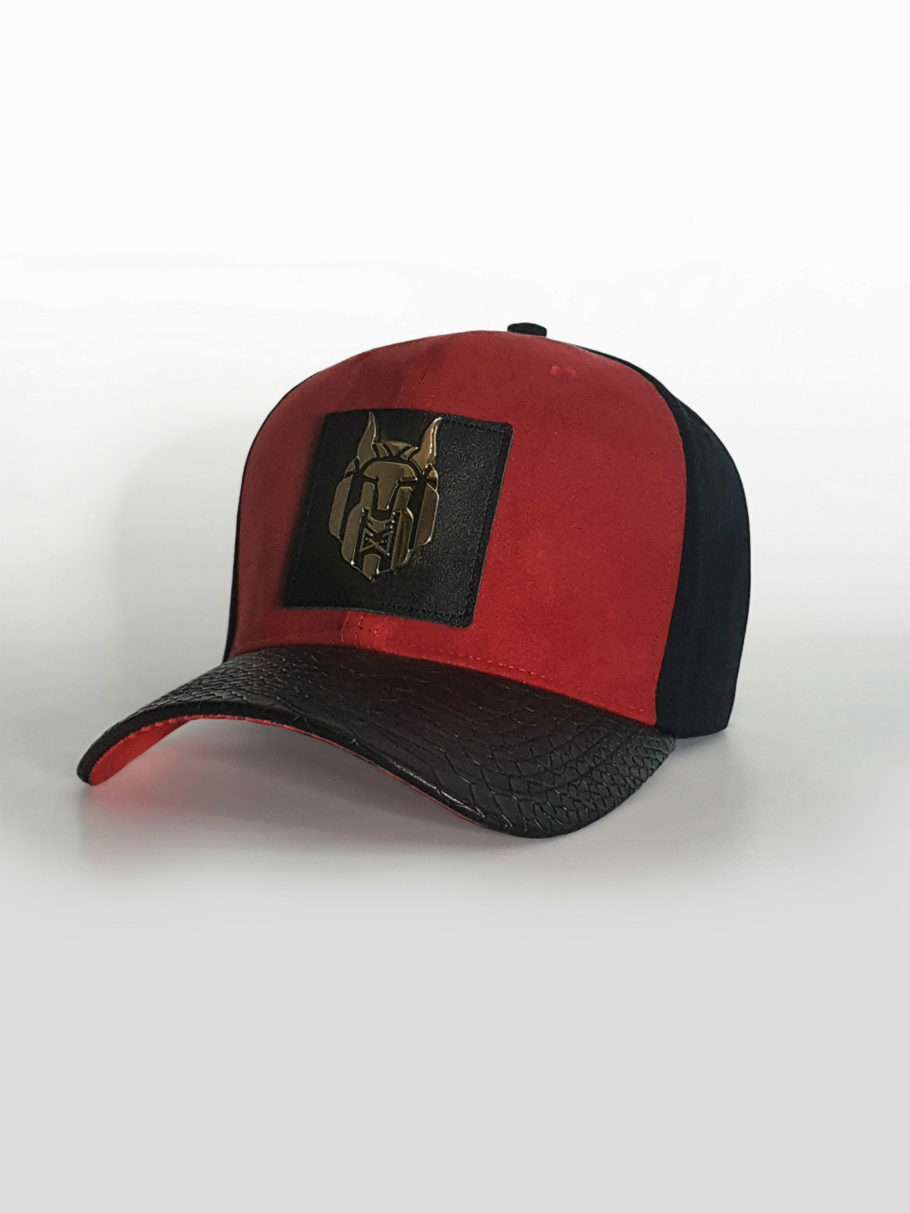 wolvez not sheep red suede snapback hat snapback cap side 0896bf21ab8
